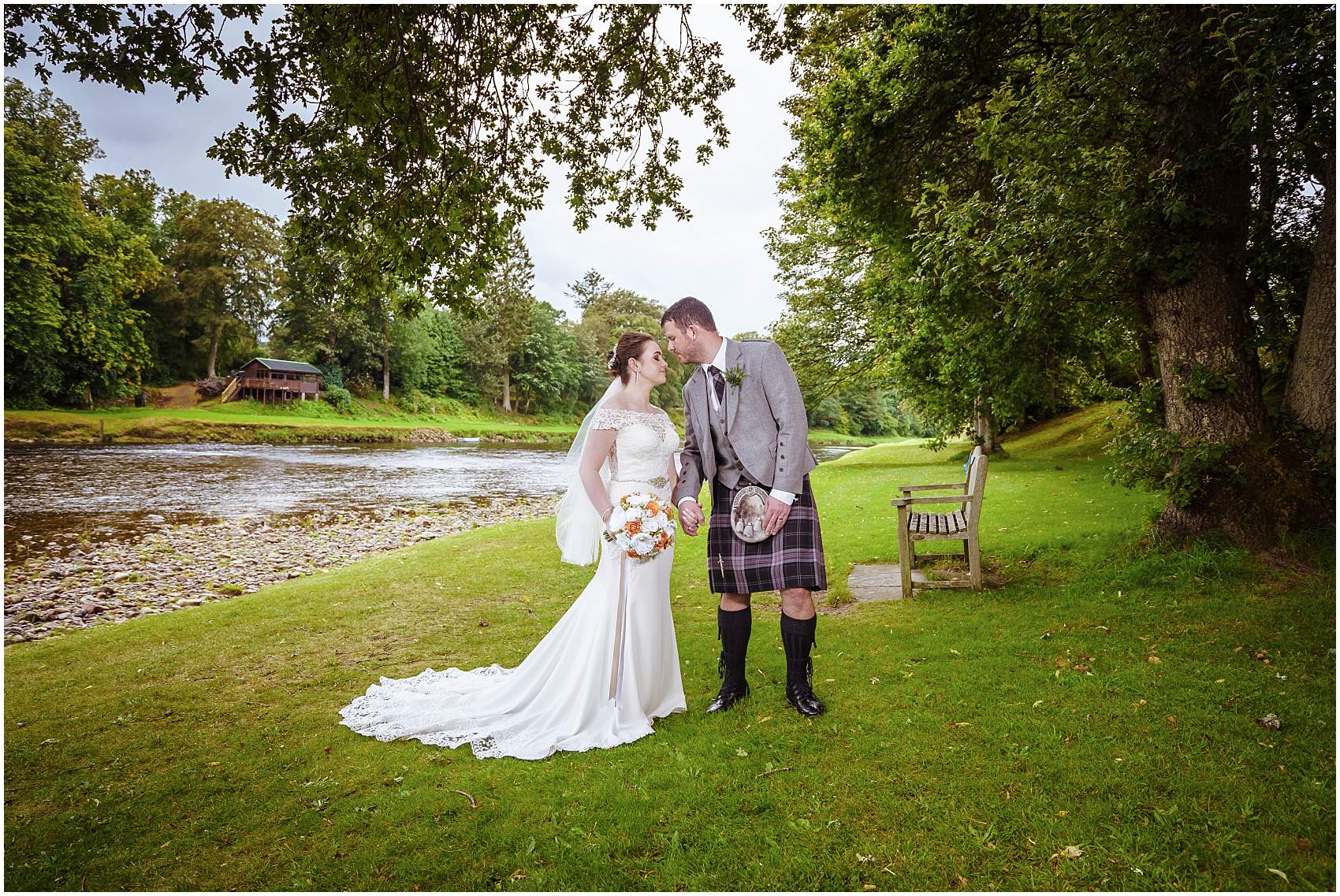 Hannah and Steven Wedding at Banchory Lodge Hotel