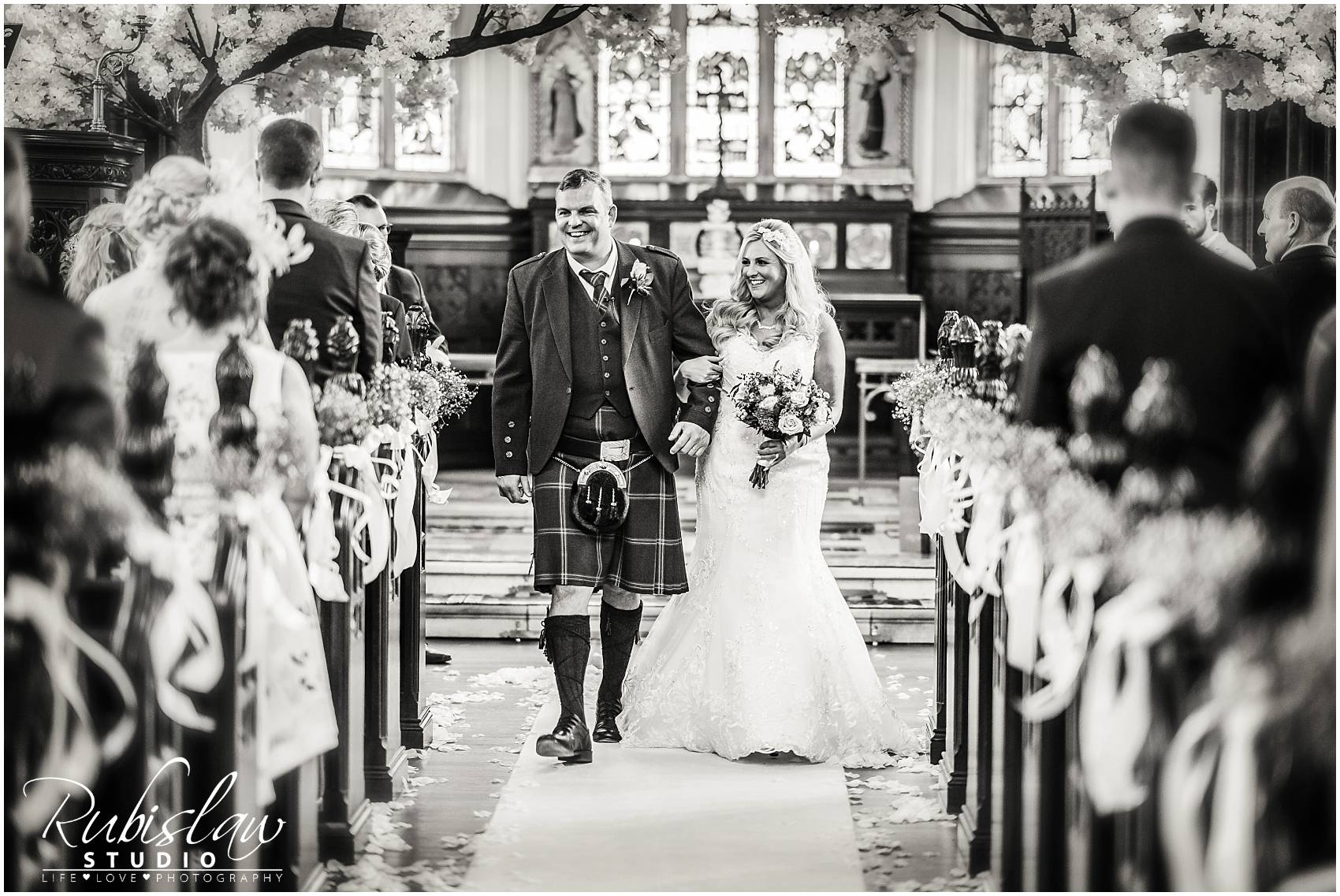 Kerry and John at Cluny Castle and Thainstone House
