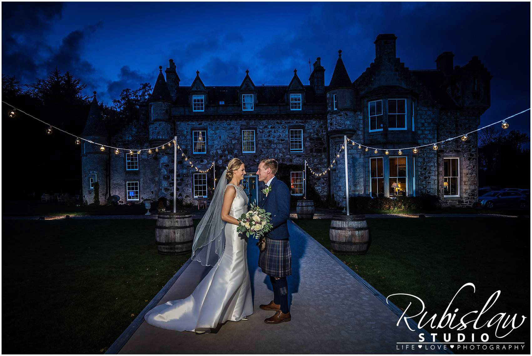 Margaret and James Wedding at Auchterless Church and Wardhill Castle