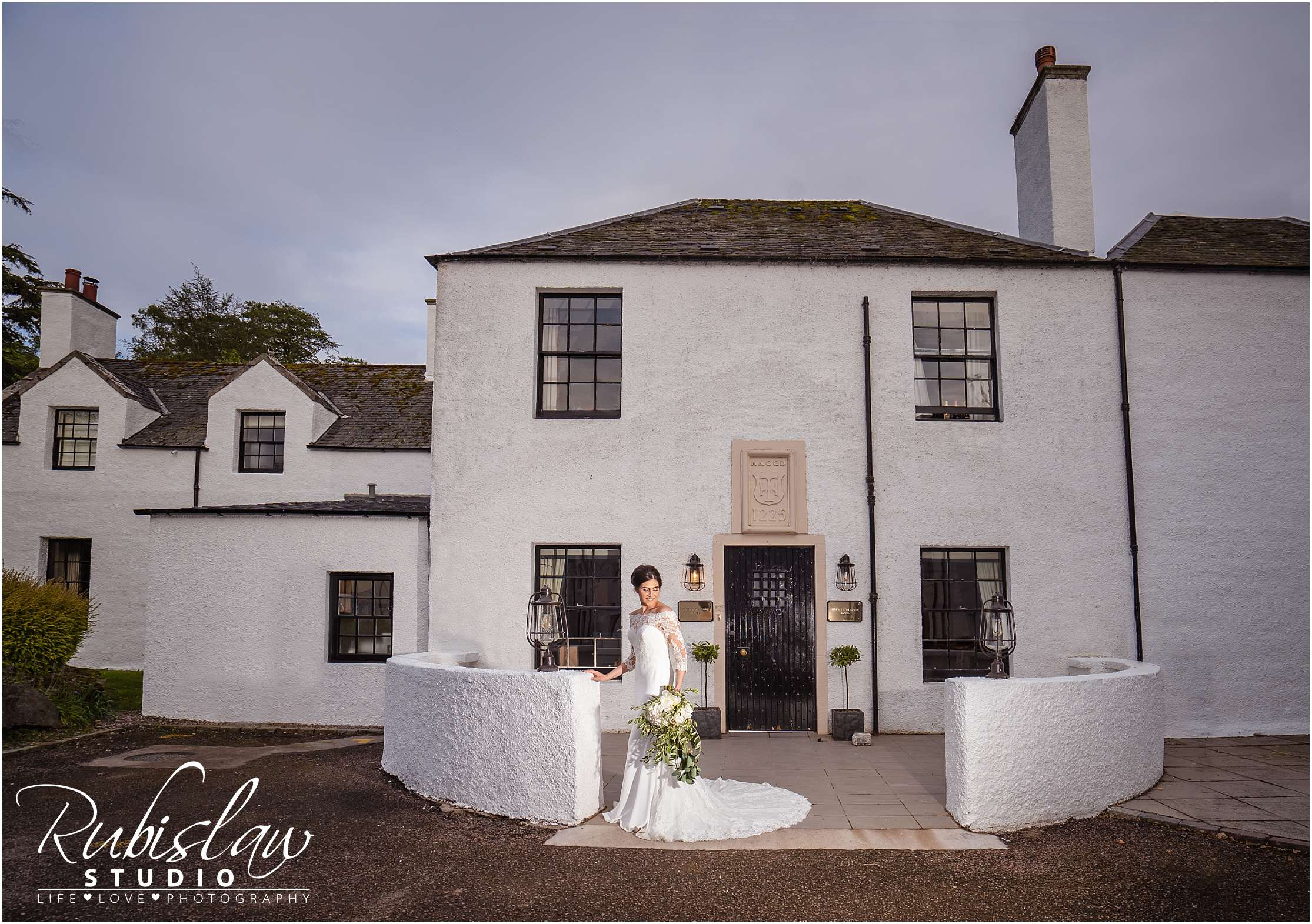 Fay and Craig at Maryculter House