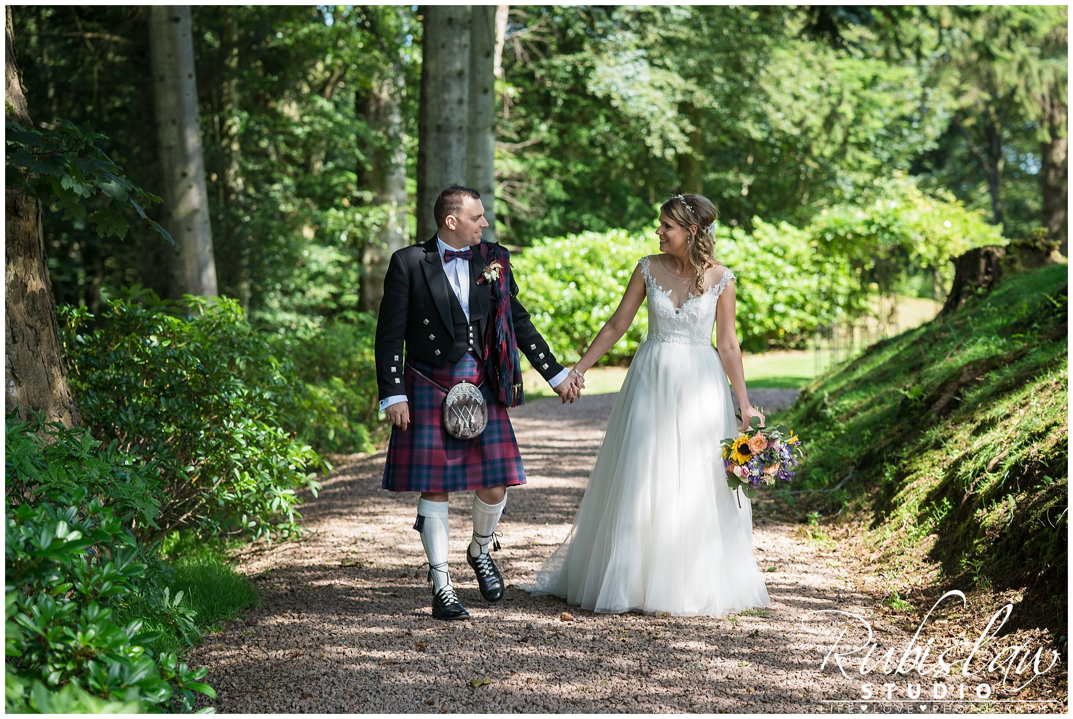 Julie and Scott at St. Machar's Cathedral and Norwood Hall