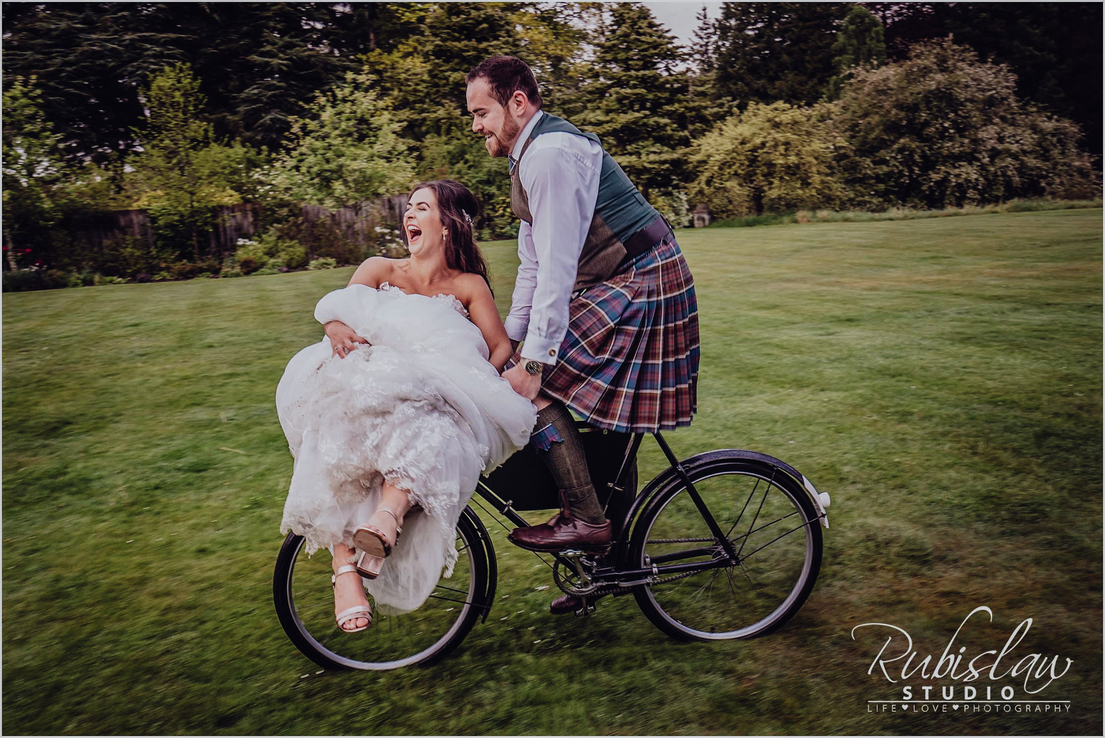 Amber and Barry wedding at Glen Tanar Ballroom
