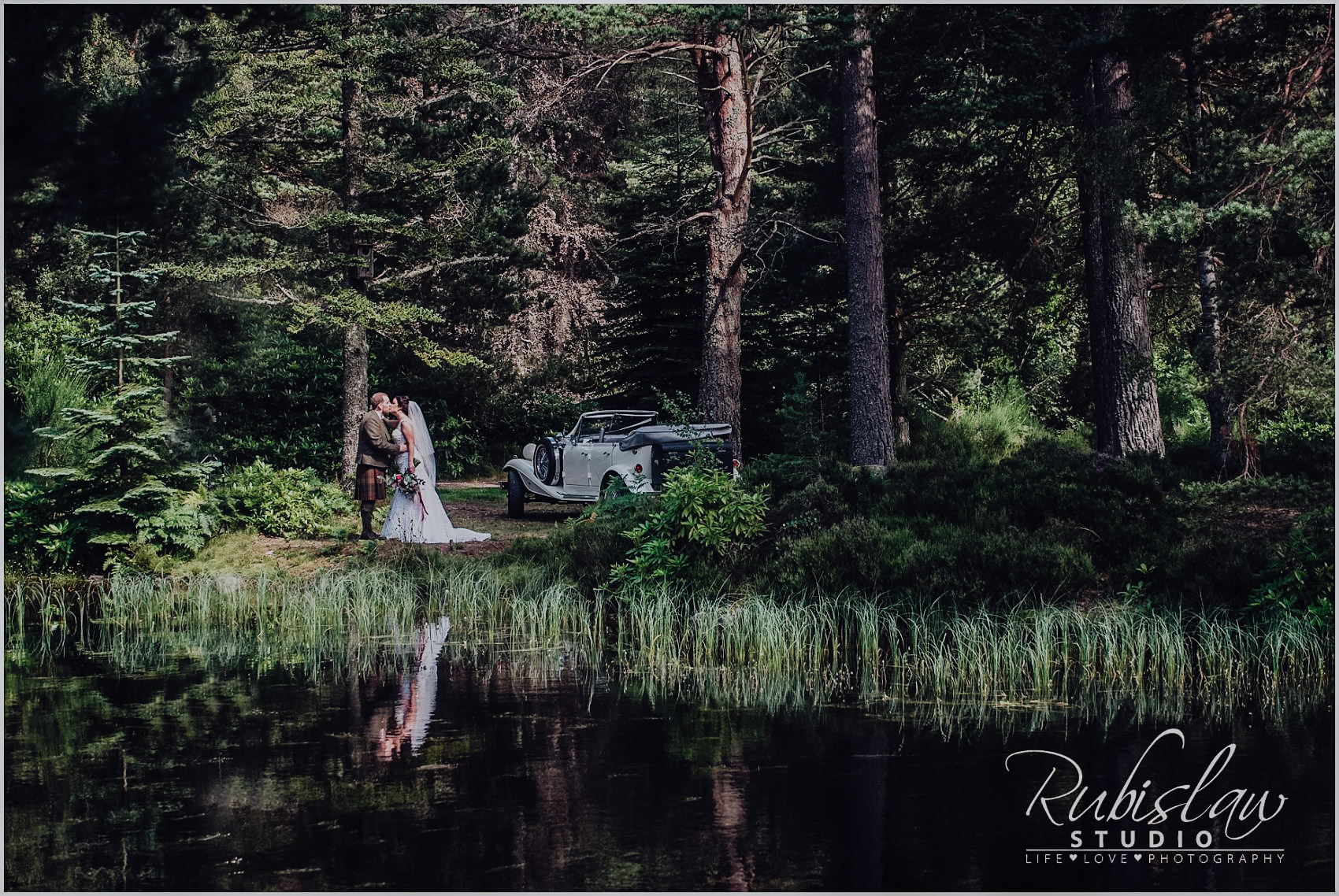 Kirsty and Ashley wedding at Glen Tanar Ballroom