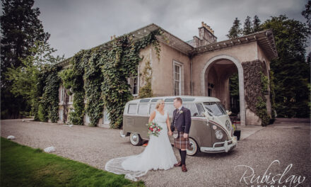 Claire and Allan Wedding at Kintore Kirk and Thainstone House