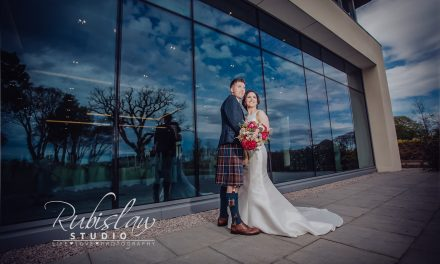 Liliana and David wedding at Meldrum House